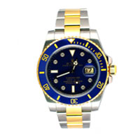 bi-colour rolex submariner