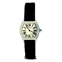 cartier-18ct tortue strap watch