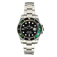 green bezel rolex submariner
