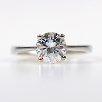 Solitaire Diamond Set Ring - £30,000